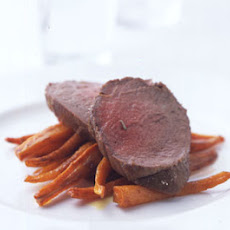 Beef Tenderloin in Herbed Salt Crust