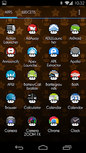 Retro Shroom Apex/Nova Icons - screenshot