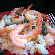 Sauteed Shrimp with Lemon and Garlic