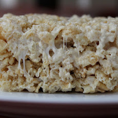 SK's Salted Brown Butter Crispy Treats