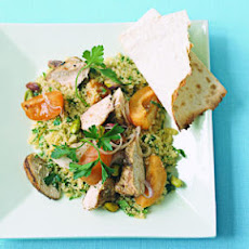 Couscous Salad with Chicken and Apricots