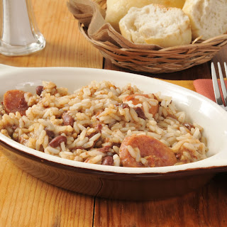 Smoked Sausage Rice and Beans