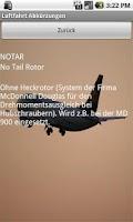 Screenshot of Luftfahrt Abkürzungen