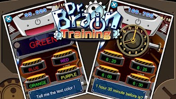 Screenshot of Dr. Brain Training!