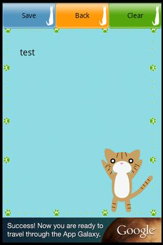 玩工具App Simple Cat Memo免費 APP試玩