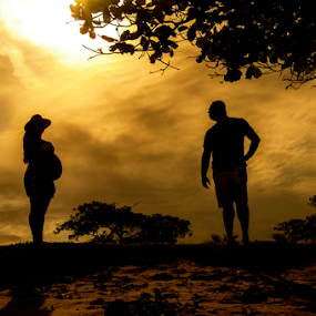 by Helio Santos - People Maternity ( silhouette )