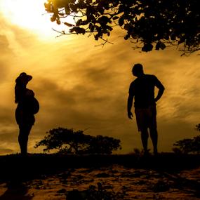 by Helio Santos - People Maternity ( silhouette )