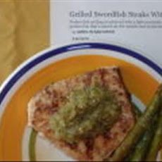 Grilled Swordfish Steaks With Salsa