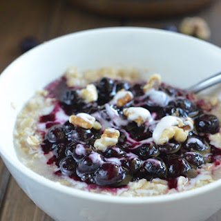 Blueberry Pie Oatmeal Recipes