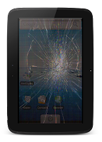 Screenshot of Broken Screen: Cracked Prank