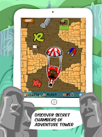 Screenshot of Crazy Ropes : The Ninja Escape
