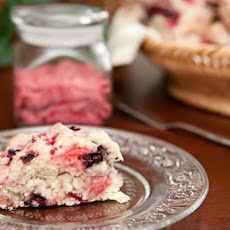 Three-Berry Scones