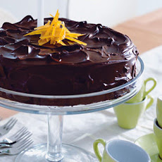 Orange, Almond And Chocolate Dessert Cake