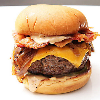 The Ultimate Bacon Cheeseburgers