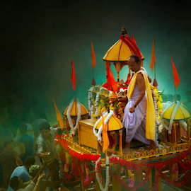 Rath Yatra by Anup Biswas - News & Events Entertainment ( rath, candid, people )