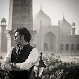 Yours truly by Areesh Zubair - People Portraits of Men