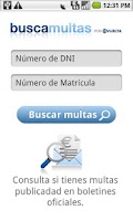Screenshot of Buscamultas