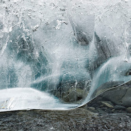 Ice Dragon by Fokion Zissiadis - Nature Up Close Water ( nature close up iceberg pleat iceland )