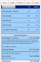 Screenshot of Political Junkie