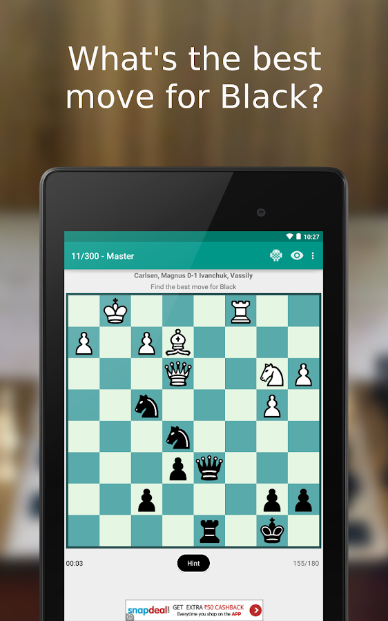 iChess - Chess Tactics/Puzzles Screenshot 6