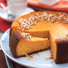 Coconut-Sweet Potato Cheesecake