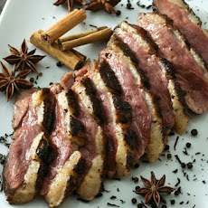 Tea-Smoked Duck Breast Recipe