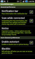 Screenshot of Ultra Wifi Manager