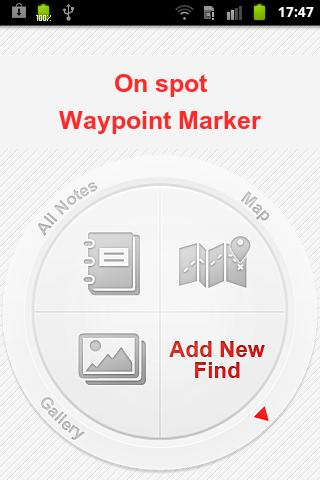 On Spot Waypoint Marker Finder
