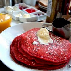 Red Velvet Pancakes Recipe