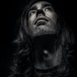 Man by Wayne Saunders - People Portraits of Men