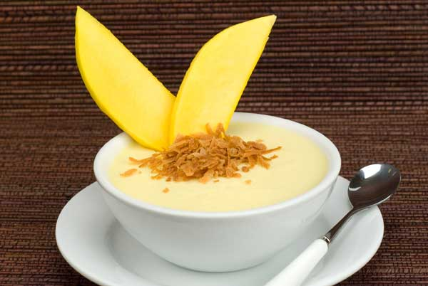 Gluten Free Dairy Free Coconut Mango Panna Cotta Recipe | Yummly