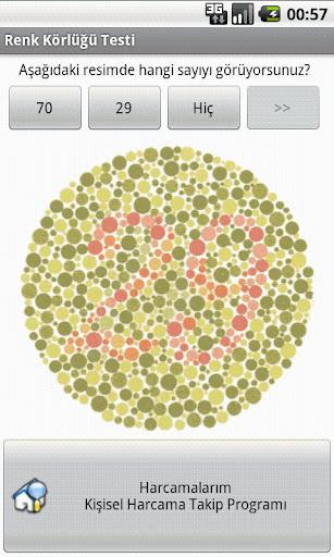 Color Blindness Test