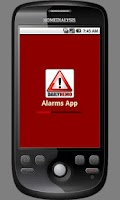 Screenshot of DailyHemo Alarms App