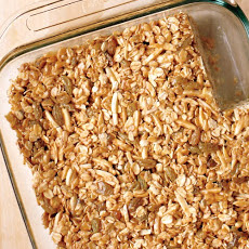 Emeril's Nutty Granola Bars