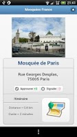 Screenshot of Mosquees France