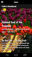 Screenshot of Faith's Checkbook (Lite)