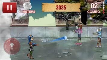 Screenshot of Zombie Smokeout