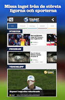Screenshot of Viasatsport.se