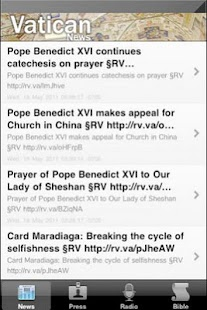 Vatican- News, Radio, KJ Bible - screenshot