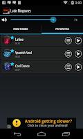 Screenshot of Latin Ringtones