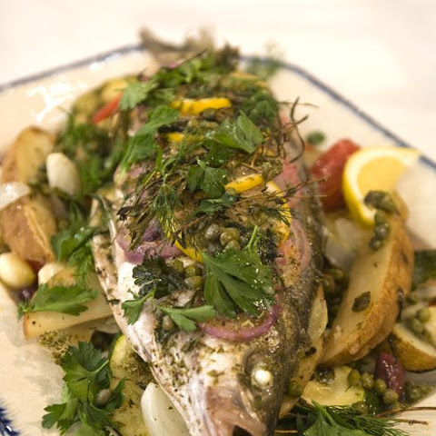Striped Bass Plaki