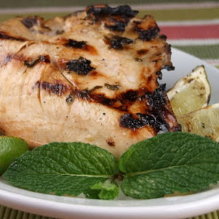 Mojito- Marinated Chicken Breasts