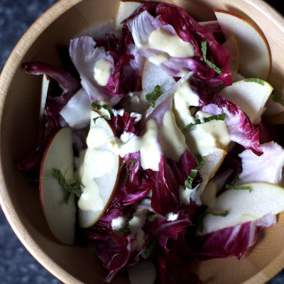 Radicchio, Apple and Pear Salad