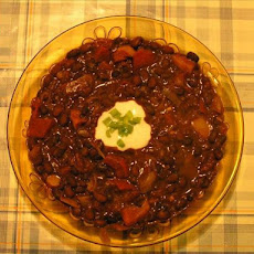 Black Bean and Chocolate Chili
