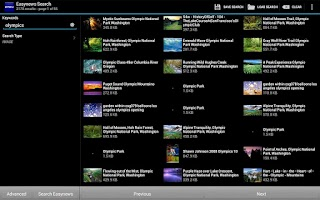 Screenshot of EasyBrowser for Easynews