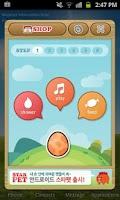 Screenshot of StarPet Clock Widget - Orange