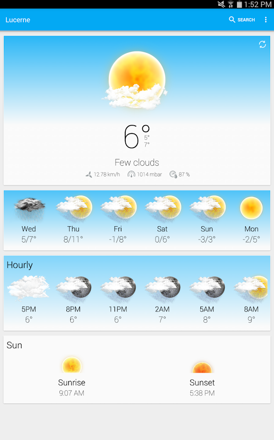 Weather Animated Widgets Screenshot 13