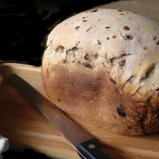 Cranberry Blueberry Bread for the Bread Machine