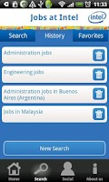 Screenshot of Jobs At Intel