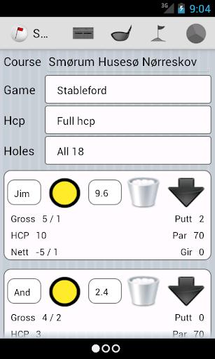 JLGolf - screenshot